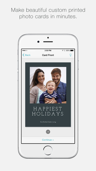 SimpleCards - create printed photo cards support charitable causes