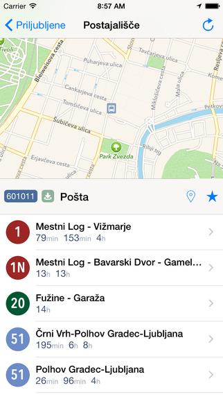 玩交通運輸App|LPPbus Ljubljana public transit免費|APP試玩