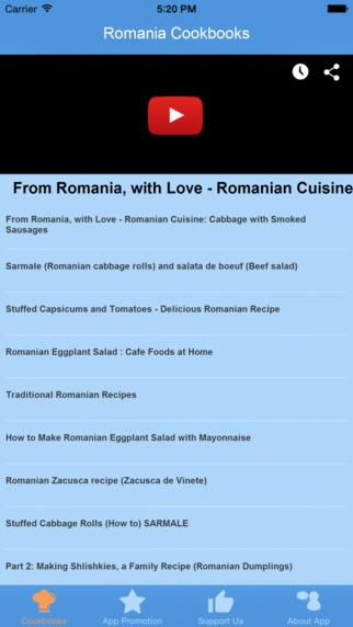 Romania Cookbooks - Video Recipes