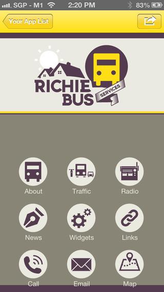 【免費商業App】Richie Bus Service-APP點子