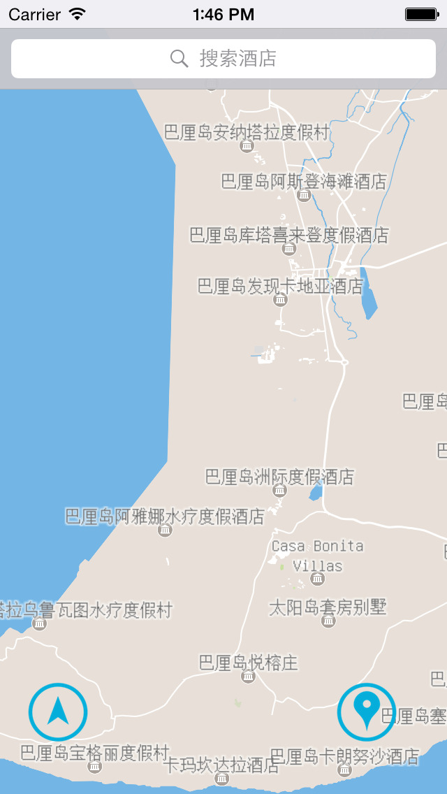巴厘岛中文离线地图下载-搞趣网