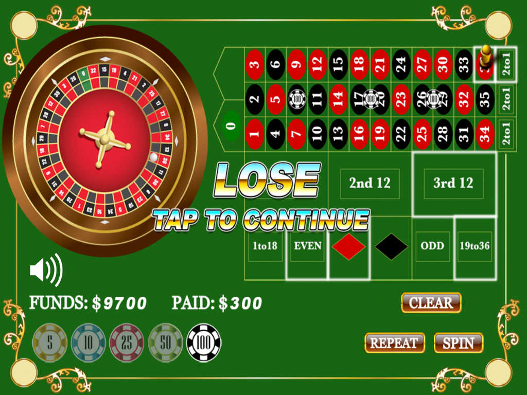 roulette for fun ipad