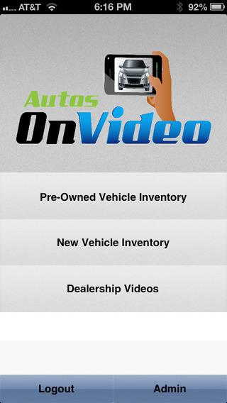 Autos On Video