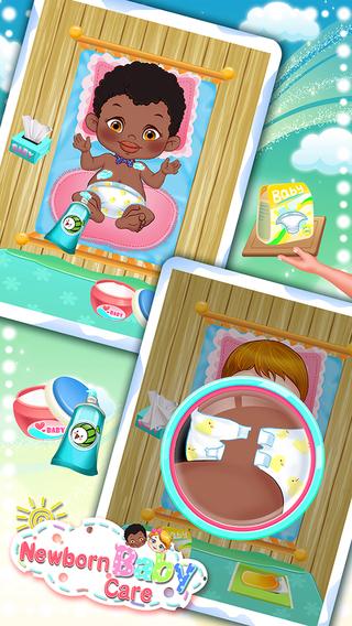 Newborn Baby Care-girls games