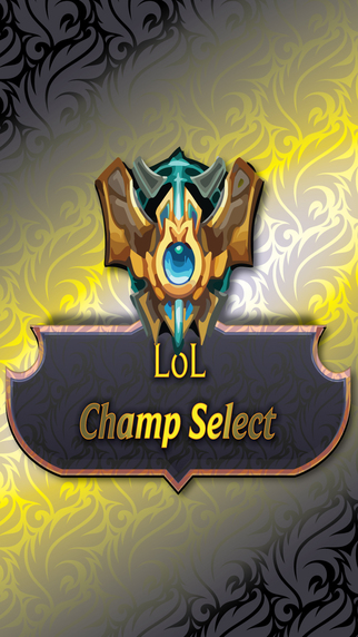 LoL Champ Select - League of Legends Edition