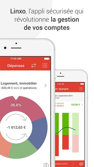 Linxo - Simplifier ma gestion de budget mon argent mes comptes en banque et mon épargne