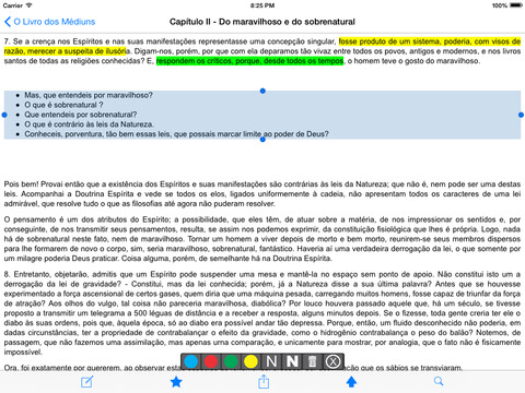O Livro dos Médiuns iPad Screenshot 2