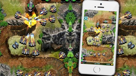 Galaxy Defense - game chiến thuật khủng 2014