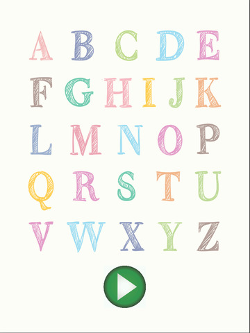 ABC Flash Cards for Kids iPad