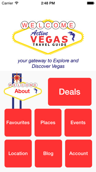 Vegas Active Travel Guide