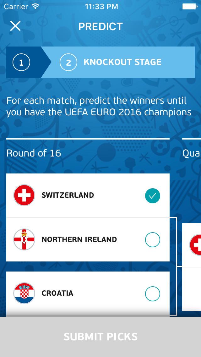 app shopper uefa euro 2016 predictor sports. Black Bedroom Furniture Sets. Home Design Ideas