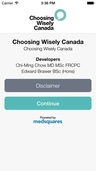 Choosing Wisely Canada