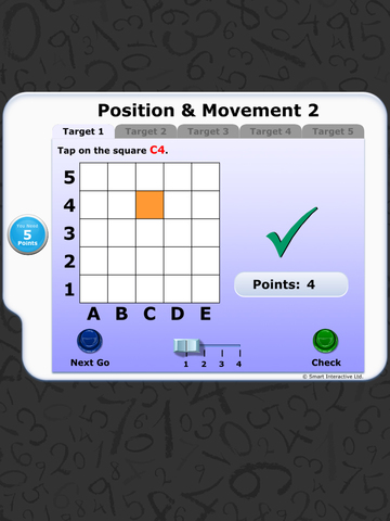Numeracy Warm Up - Position and Movement 2