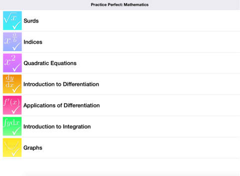 Practice Perfect for iPad: Mathematics