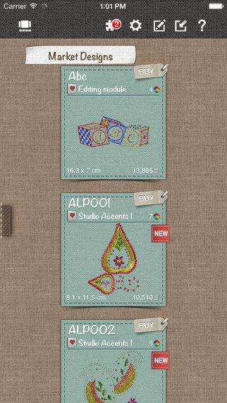 DRAWings Snap - 刺绣设计、编辑、打印应用[iOS][¥198→0]丨反斗限免