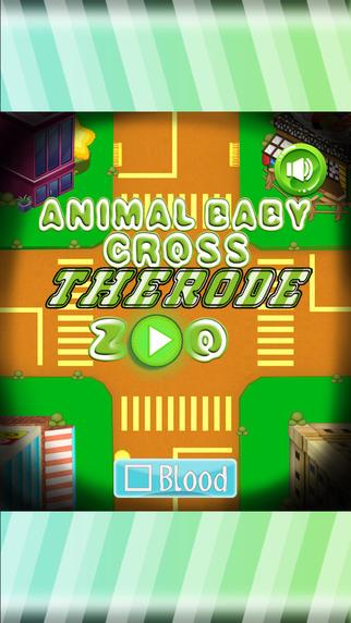 Animal Baby Cross The Road - Zoo