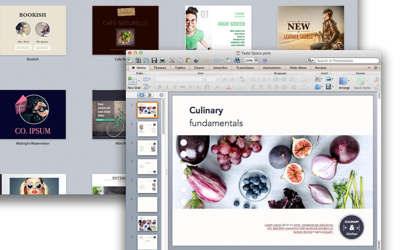 Suite for MS PowerPoint - Templates Screenshot
