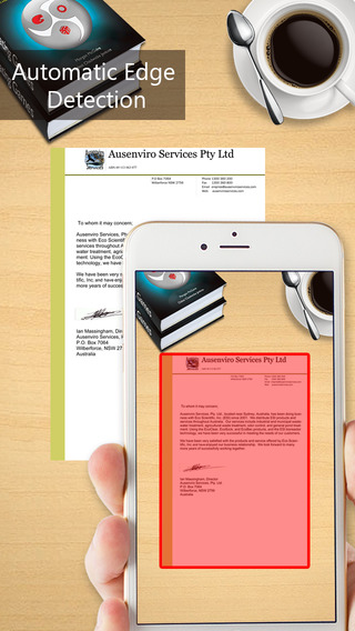 Pocket Scanner - Quickly Scan Business Documents Books Receipts Images FREE