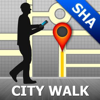 Shanghai Map and Walks, Full Version LOGO-APP點子