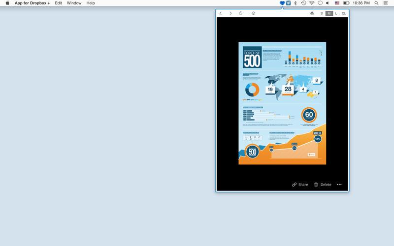 App for Dropbox +