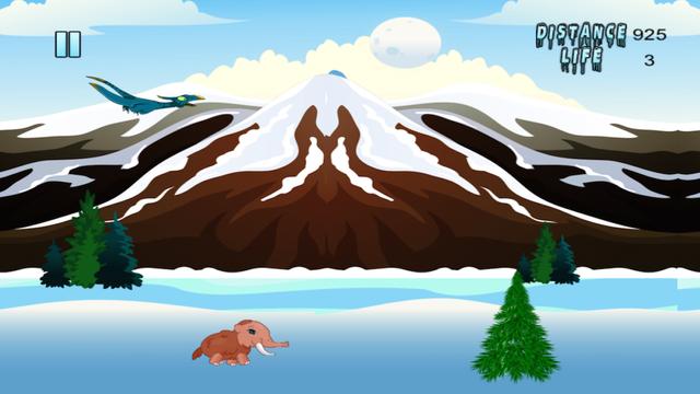 Dinosaur Park Run - Baby Mammoth Escape