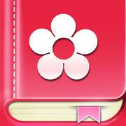 Period Calendar / Tracker mobile app icon