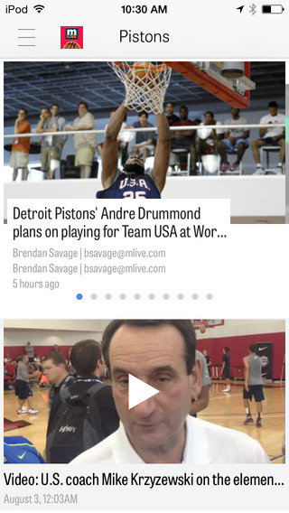 MLive.com: Detroit Pistons News