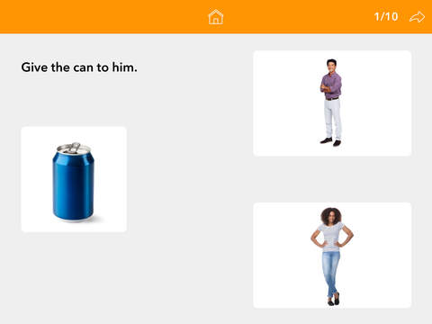 Screenshot #4 for Pronouns by Teach Speech Apps - for speech therapy