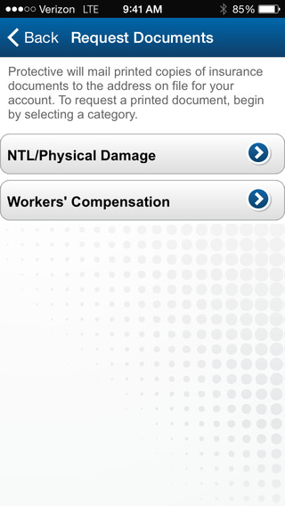 Protective Insurance Mobile Claims Application iPhone Screenshot 5