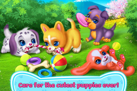 Screenshot 1 Puppy Love - My Dream Pet