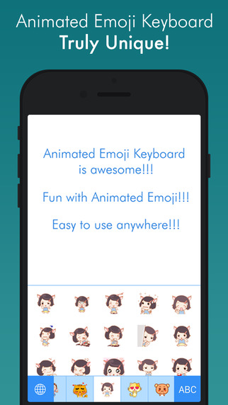 Animated Icons - Best animated GIF sticker keyboard
