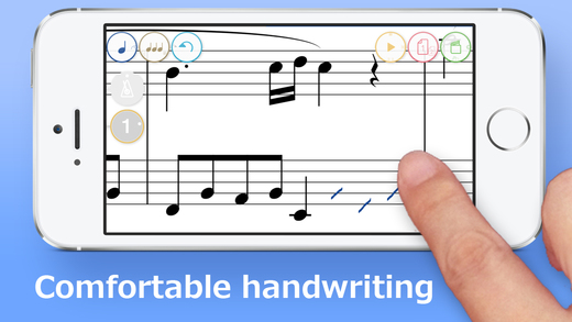 Touch Notation Free