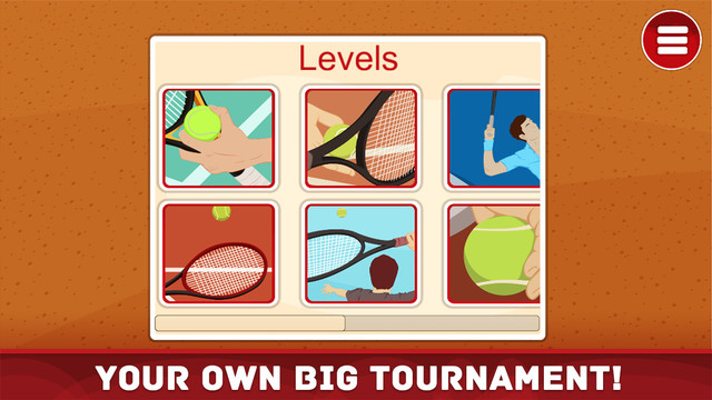 Tennis Puzzle - Big Tournament Deluxe