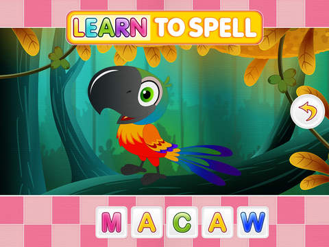 玩免費教育APP 下載Learn To Spell English Words For Kids app不用錢 硬是要APP