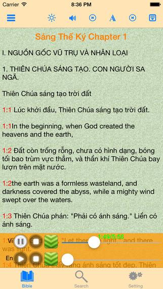 Catholic Vietnamese Audio Bible