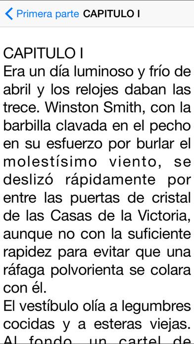 1984 [Español] iPhone Screenshot 3