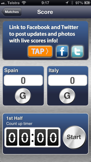 SoccerScorer