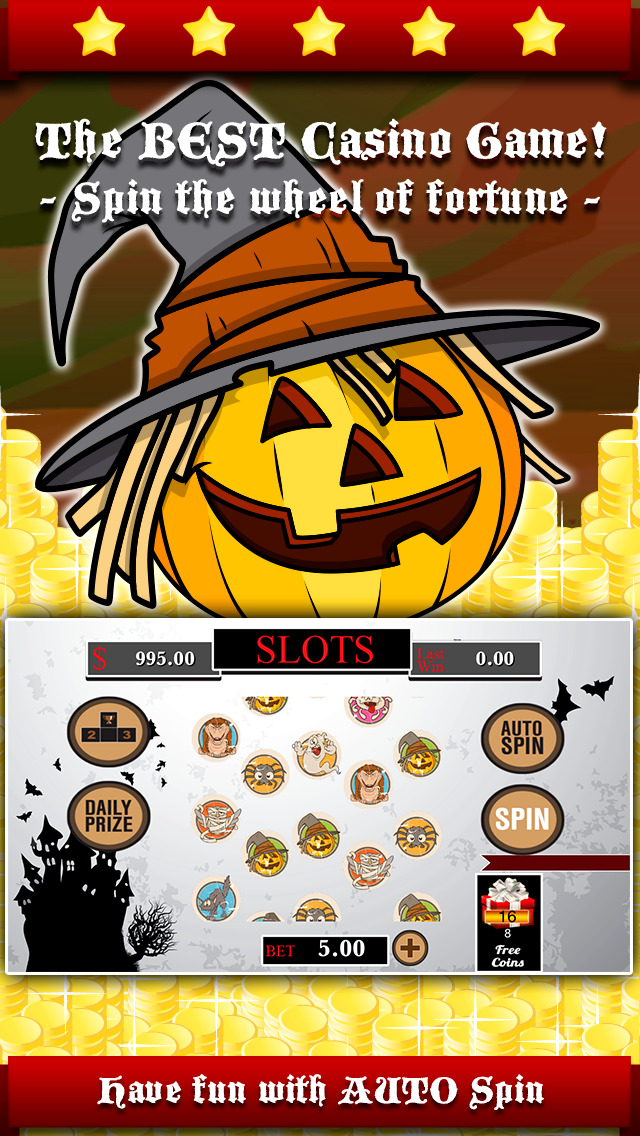 AAA Aardwolf Halloween Slots PRO - Spin lucky wheel to win epic gold price during the xtreme party night-1