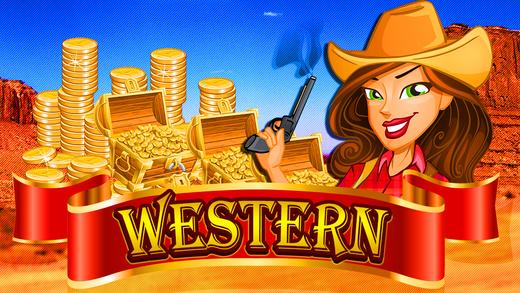 Wild West Romance Luck-y Casino Best Slots Machine Pro Game of 2015