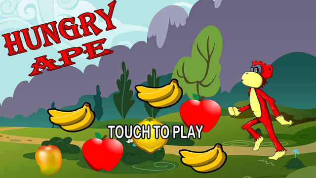 Hungry Ape : Adventure Runner Game