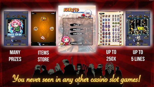 A Slots Naruto - The best Ninja Ever Free Lucky and Rich