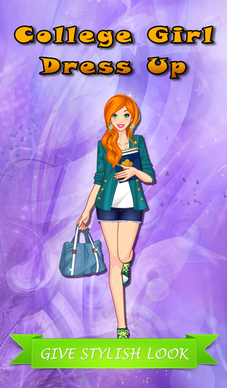 College Girl: Dress Up Game For Girls and Kids who Love Makeover and Make-Up