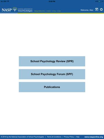 National Association of School Psychologists NASP Publications