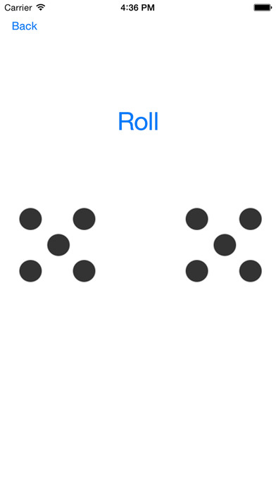 Odds: Coin Toss & Dice Roller For Apple Watch - Heads or Tails Coin Flipping & Dice Roll iPhone Screenshot 3