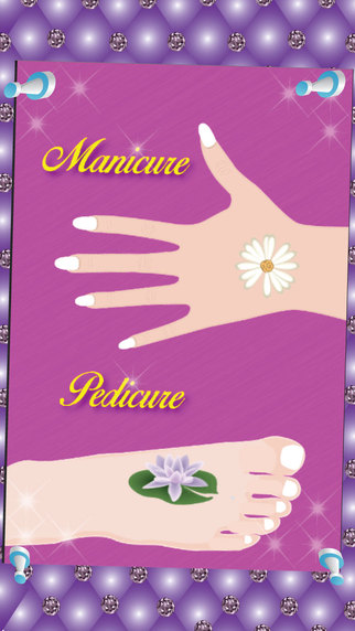 Princess Manicure Pedicure - Nail art design and dress up salon game