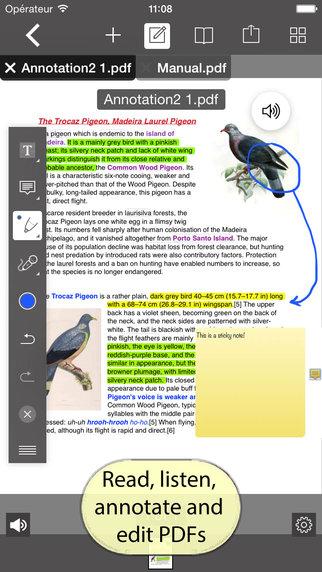 PDF Editor with Word Processor Sketch pad