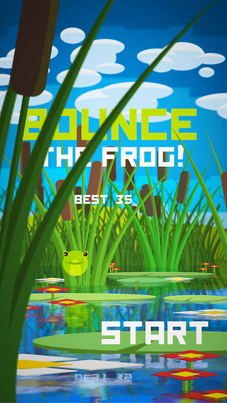 Bounce the Frog