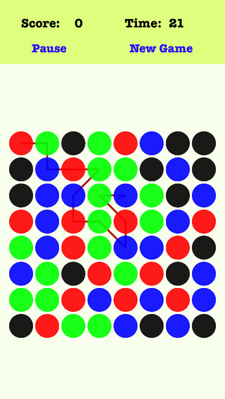Classic Dots Plus - Connect the dots according to the order of the red green blue