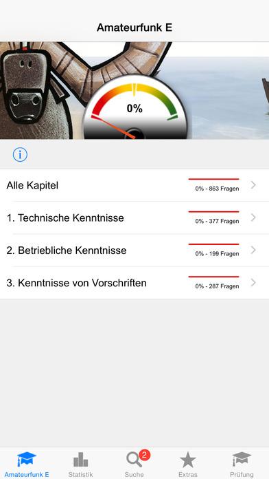 Amateurfunk - Klasse E iPhone Screenshot 1