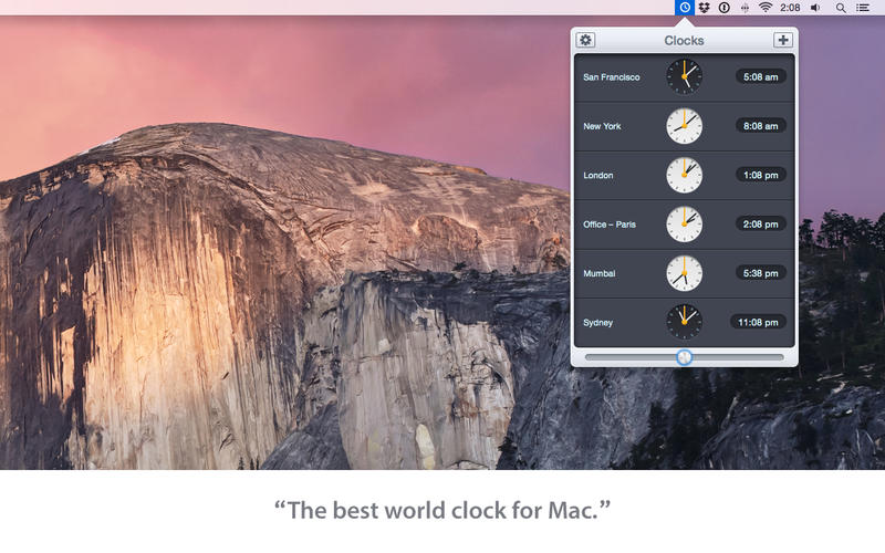 Clocks Screenshot